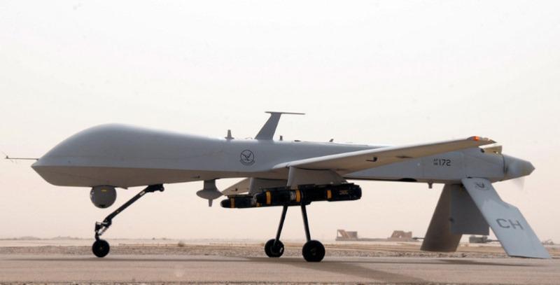 drone militar estadounidense