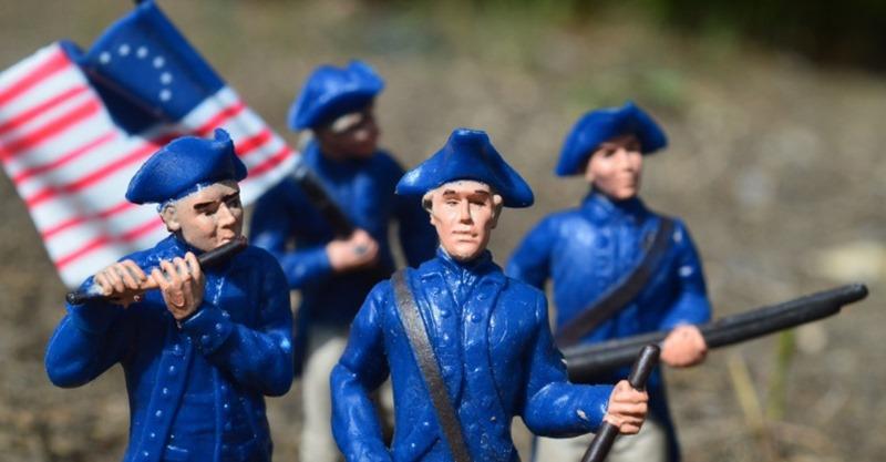 fusileros norteamericanos guerra de la independencia