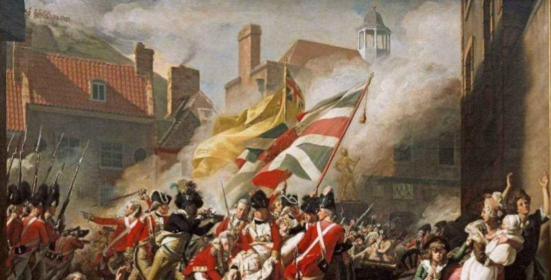 guerra de la independencia usa tropas britanicas