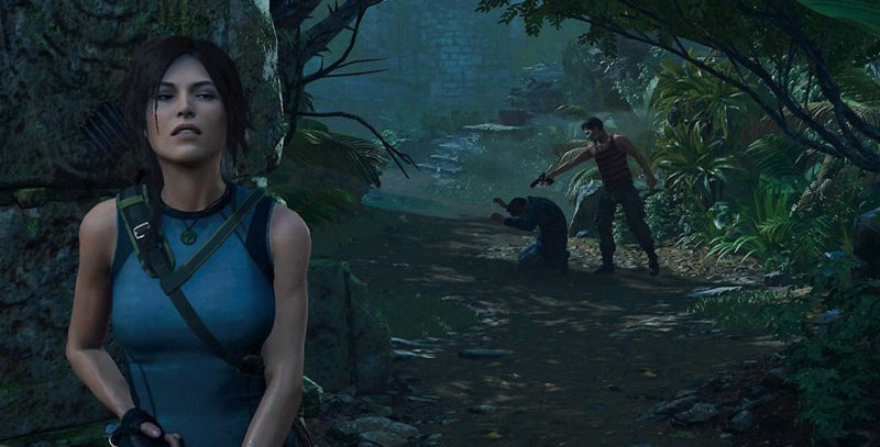 lara croft videojuego