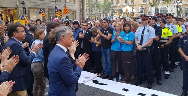 urkullu atentados de barcelona