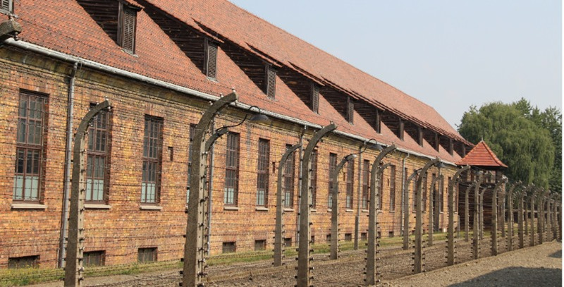 barracones auschwitz