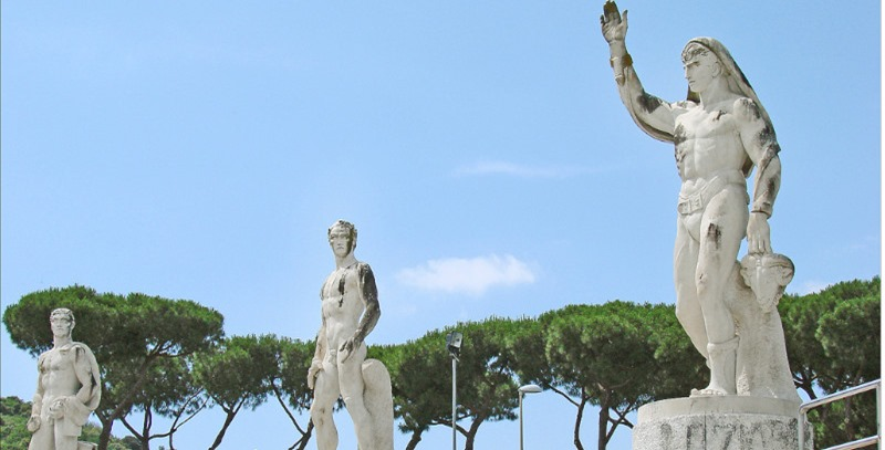estatuas foro romano