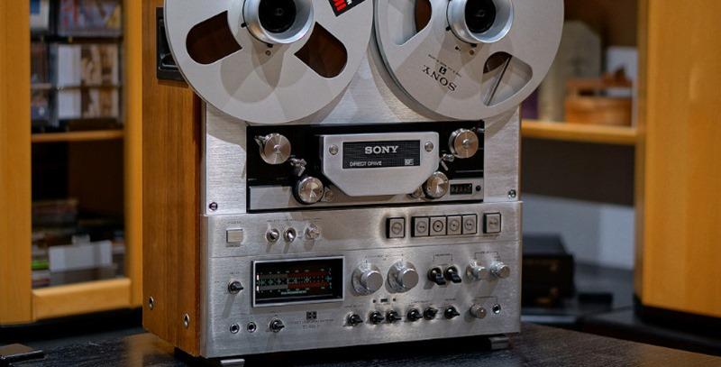 grabadora de cinta sony
