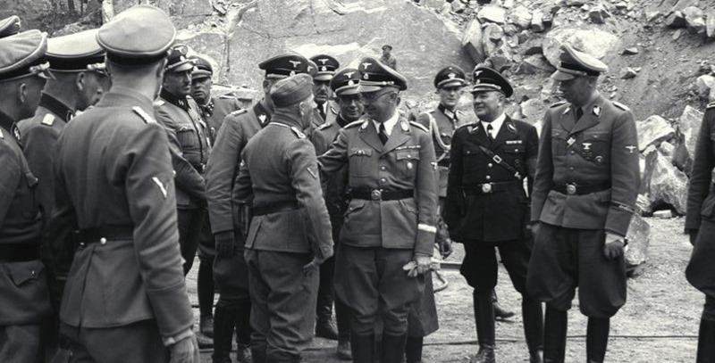 himmler en mauthausen