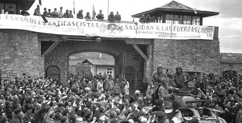 mauthausen liberacion americanos
