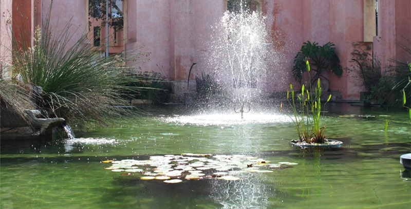 fuente-en-estanque