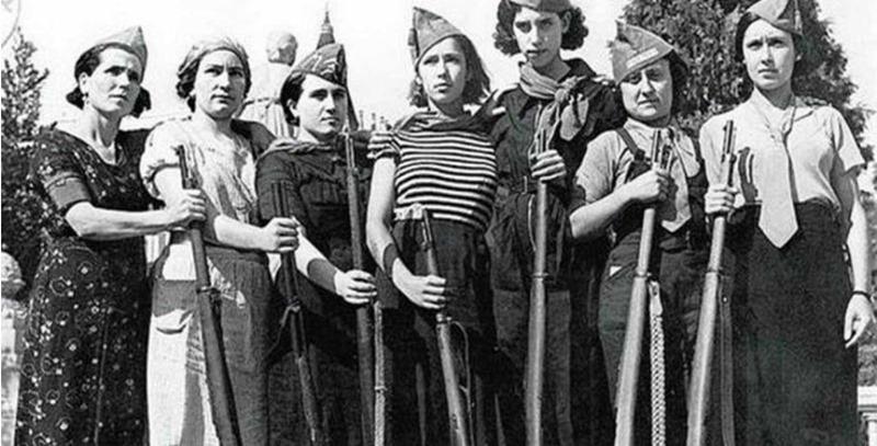 milicianas-jovenes