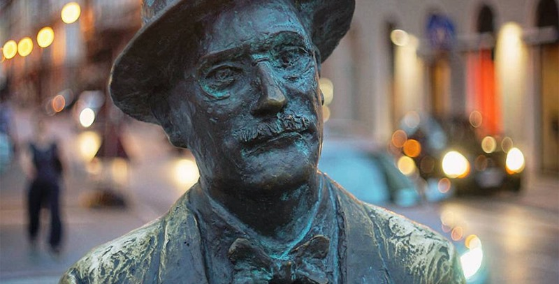 estatua-de-james-joyce