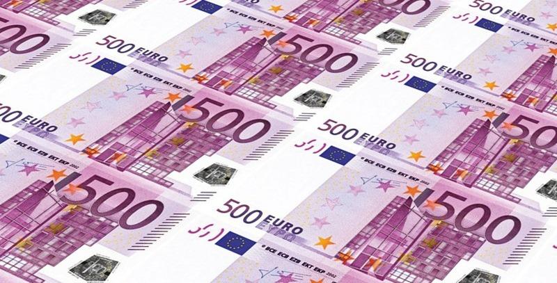 tirada billetes 500 euros