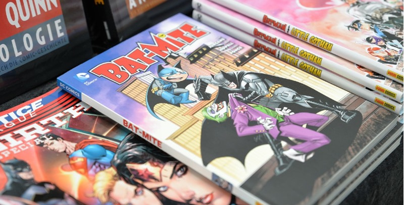 expositor con comics