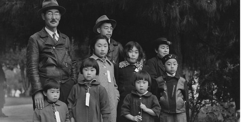 japoneses internados en campos