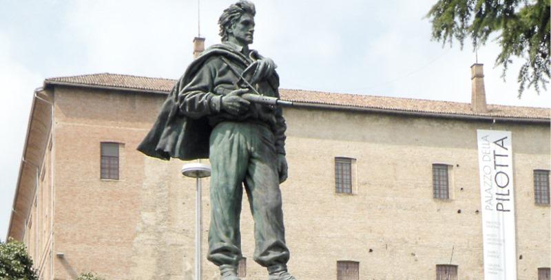 monumento al partisano italiano