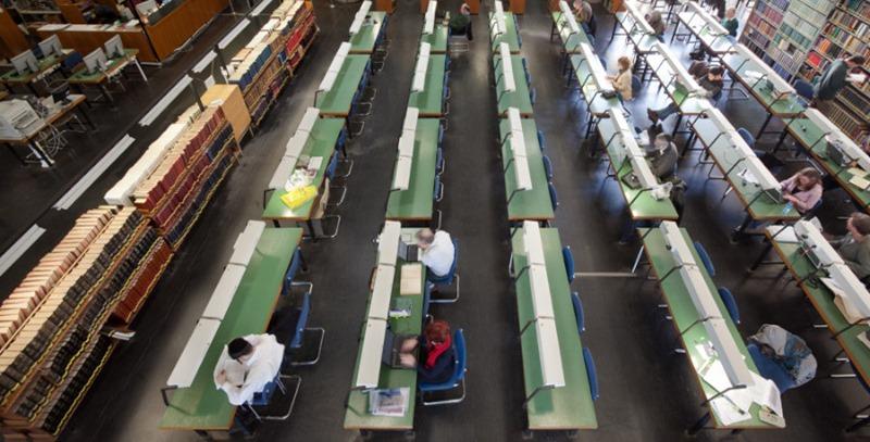 sala lectura biblioteca nacional de israel