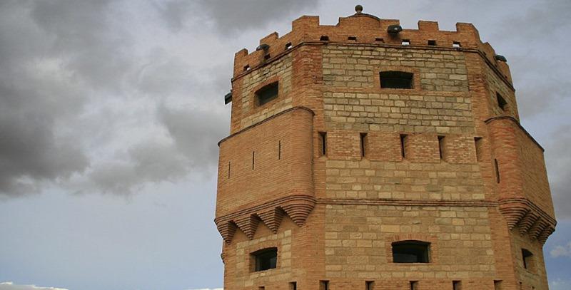torre medieval en tudela