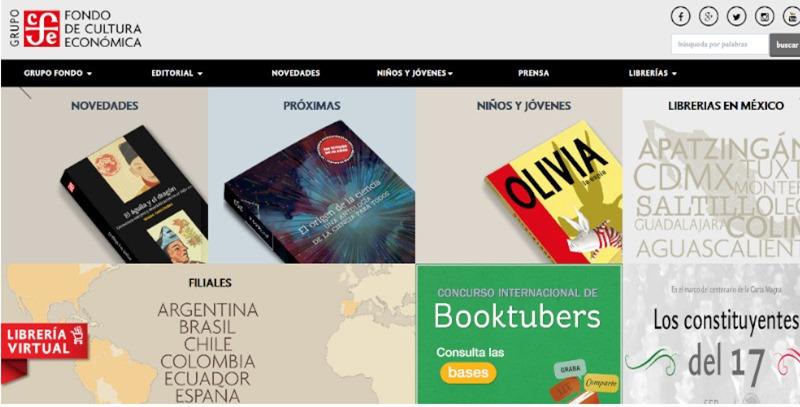 web fondo de cultura economica