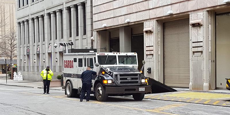garda armored truck